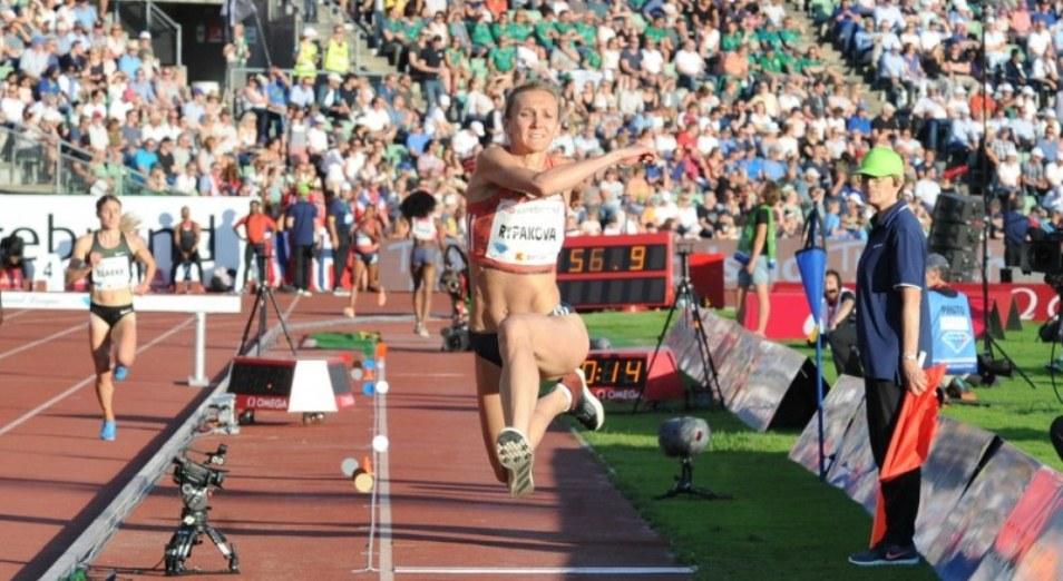 Ольга Рыпакова стала шестой на этапе Бриллиантовой Лиги в Осло