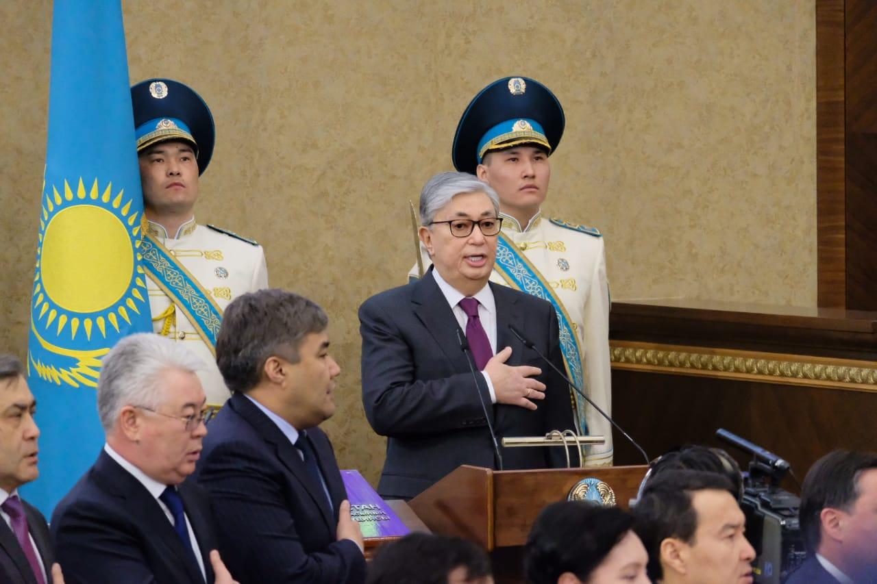 Президентом Казахстана стал экс-спикер сената Касым-Жомарт Токаев