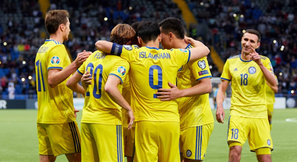 Евро-2020: Сборная Казахстана вернула третье место в группе I