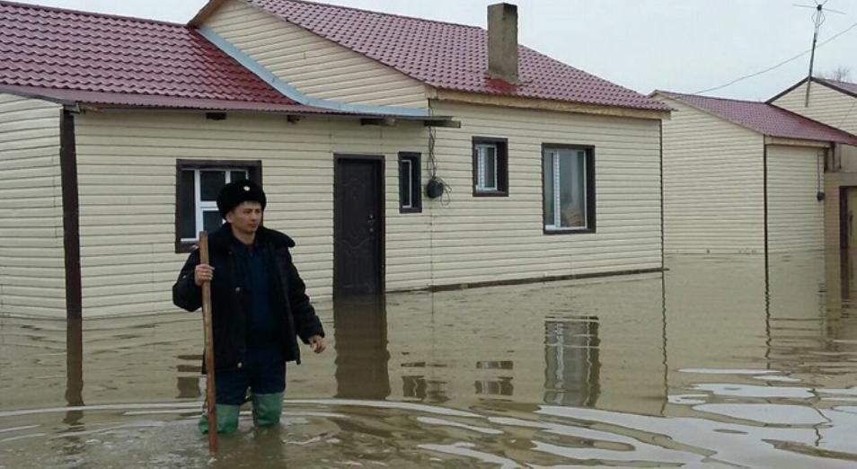 На Карагандинских водохранилищах увеличился сброс воды