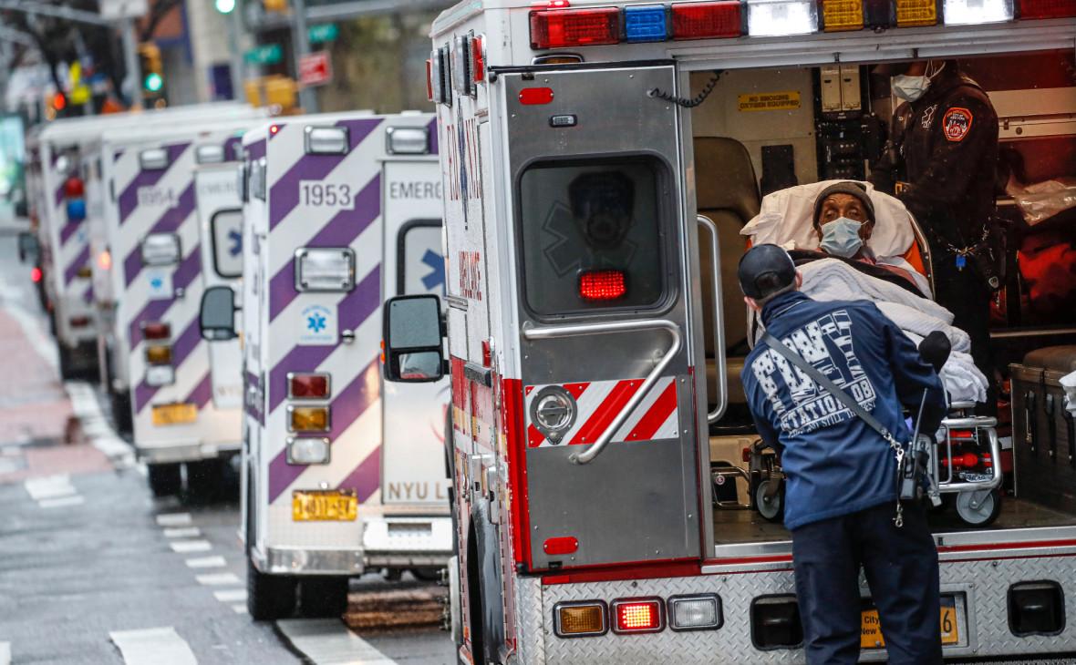 Число инфицированных COVID-19 в США превысило 1,5 млн