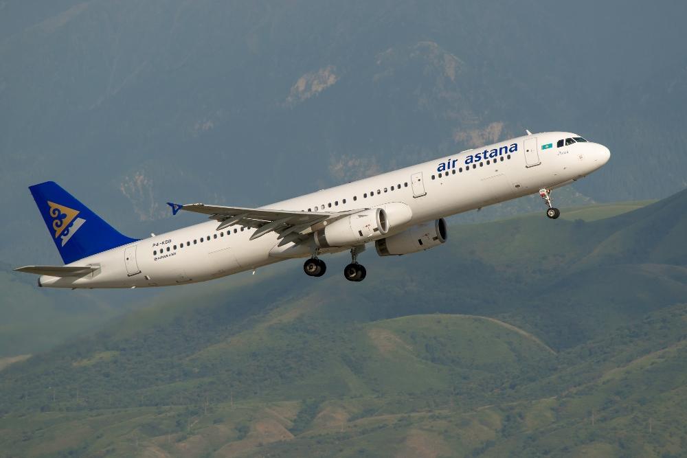 Авиакомпания Air Astana с 11 апреля приостанавливает полеты в Индию