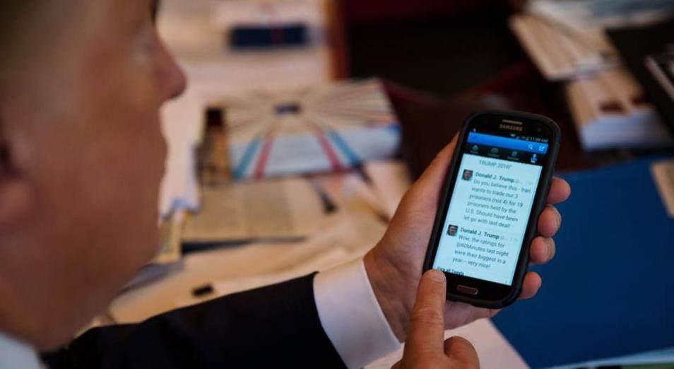 Для твитов Дональда Трампа создали индекс
