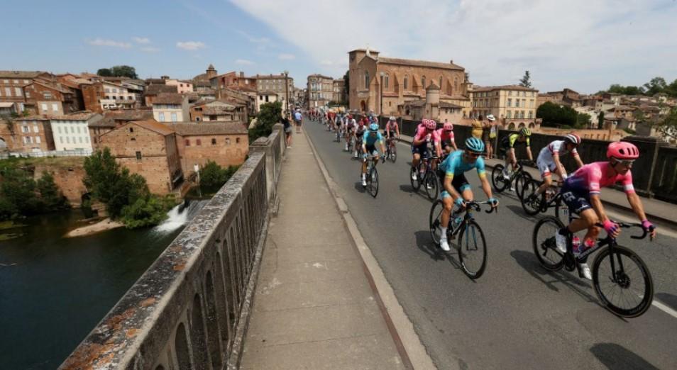"""Тур де Франс"": Фульсанг – на колесе у победителя этапа"