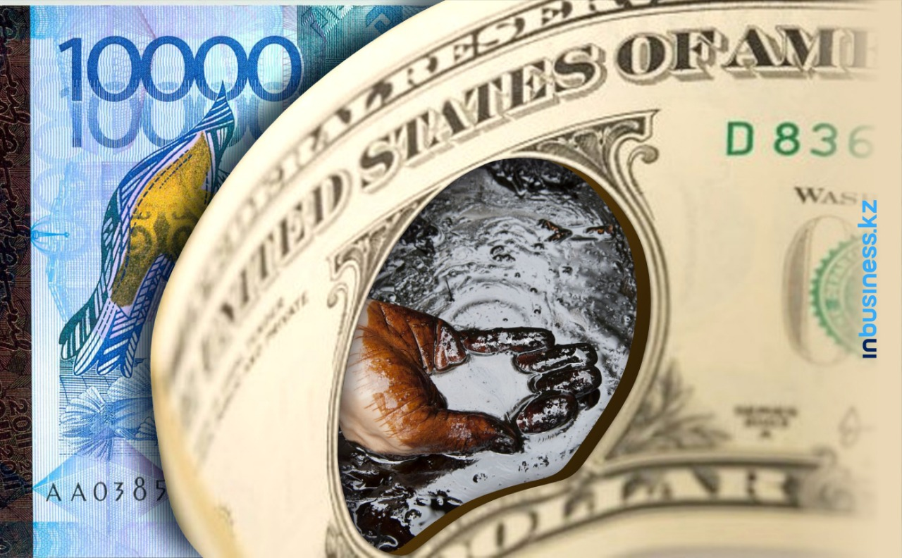 Тенге продолжает слабеть из-за дешевеющей нефти