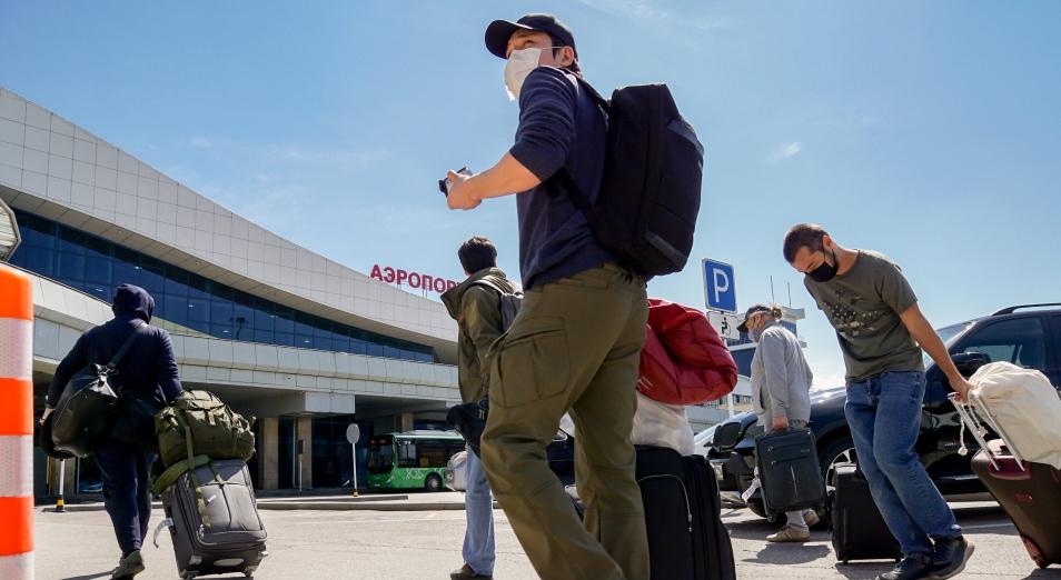 Первые пассажиры авиарейса Алматы – Нур-Султан во время пандемии. Кто они?