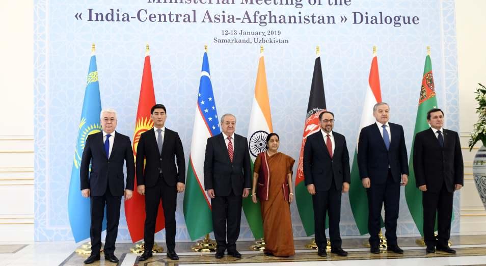 Индия вступает в борьбу за Центральную Азию
