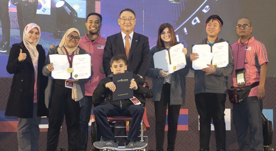 Казахстанцы одержали победу в мировом финале Global IT Challenge в Южной Корее
