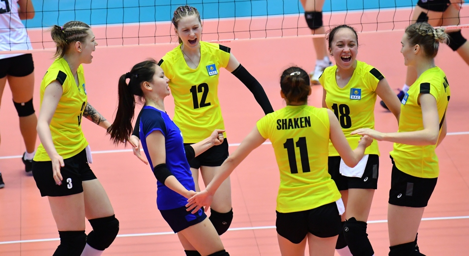 Чемпионат Азии U-19 по волейболу: казахстанки стали седьмыми