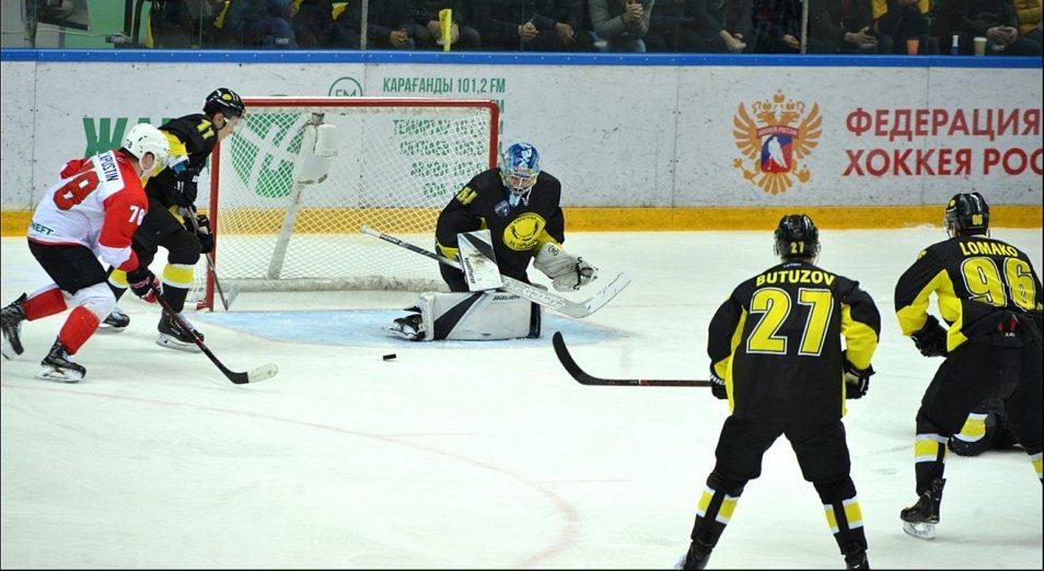 Плей-офф ВХЛ: «Сарыарка» выиграла у «Нефтяника» матч-перестрелку