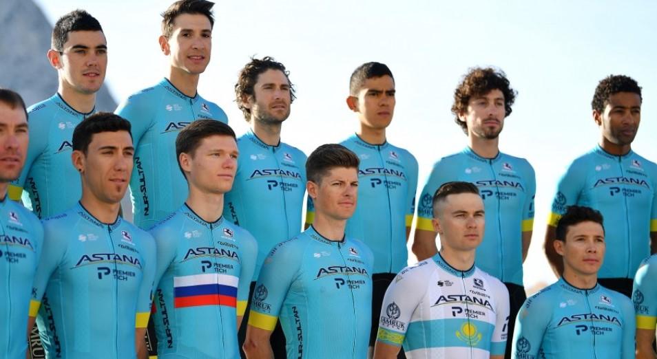 Astana Pro Team вновь выходит на виртуальный старт