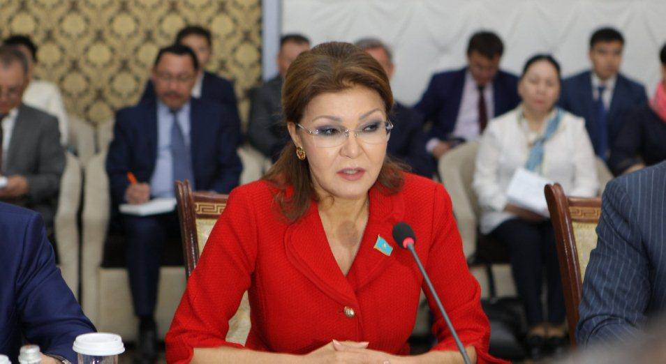 Дарига Назарбаева о СМИ: «Эта сфера сильно зарегулирована»