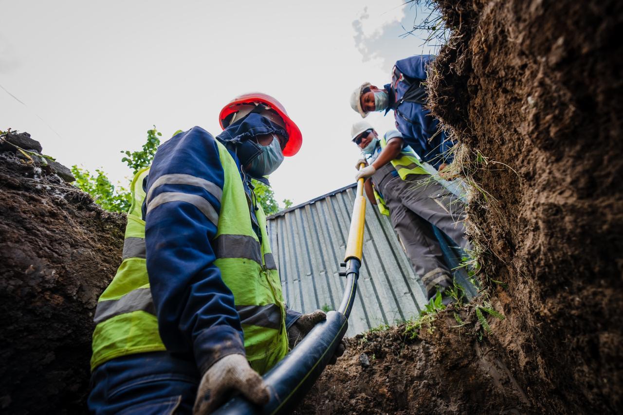 К домам жилых массивов в Нур-Султане подвели газораспределительные сети