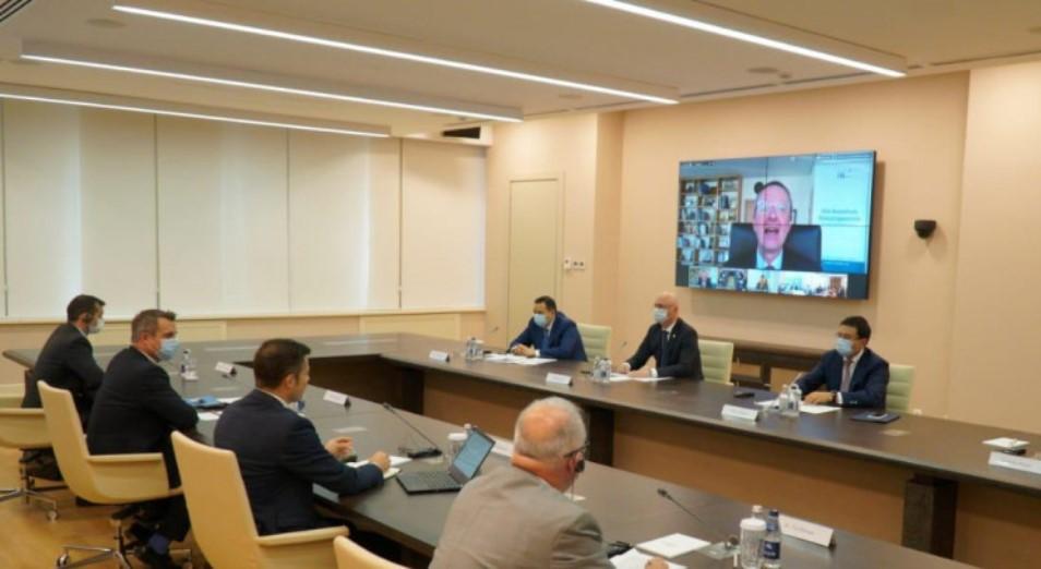 Бизнесмены Казахстана и Германии обсудили новые пути сотрудничества