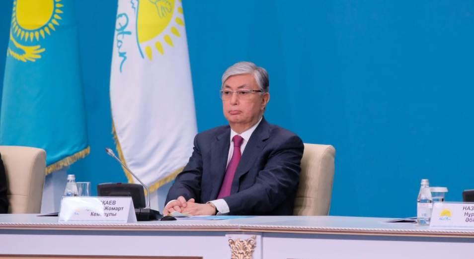 Партия поддержала кандидатуру Касым-Жомарта Токаева
