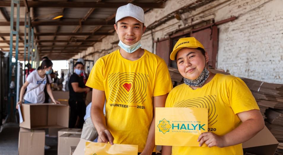 Благотворительный фонд «Халык» завершил передачу лекарственно-продуктовых наборов
