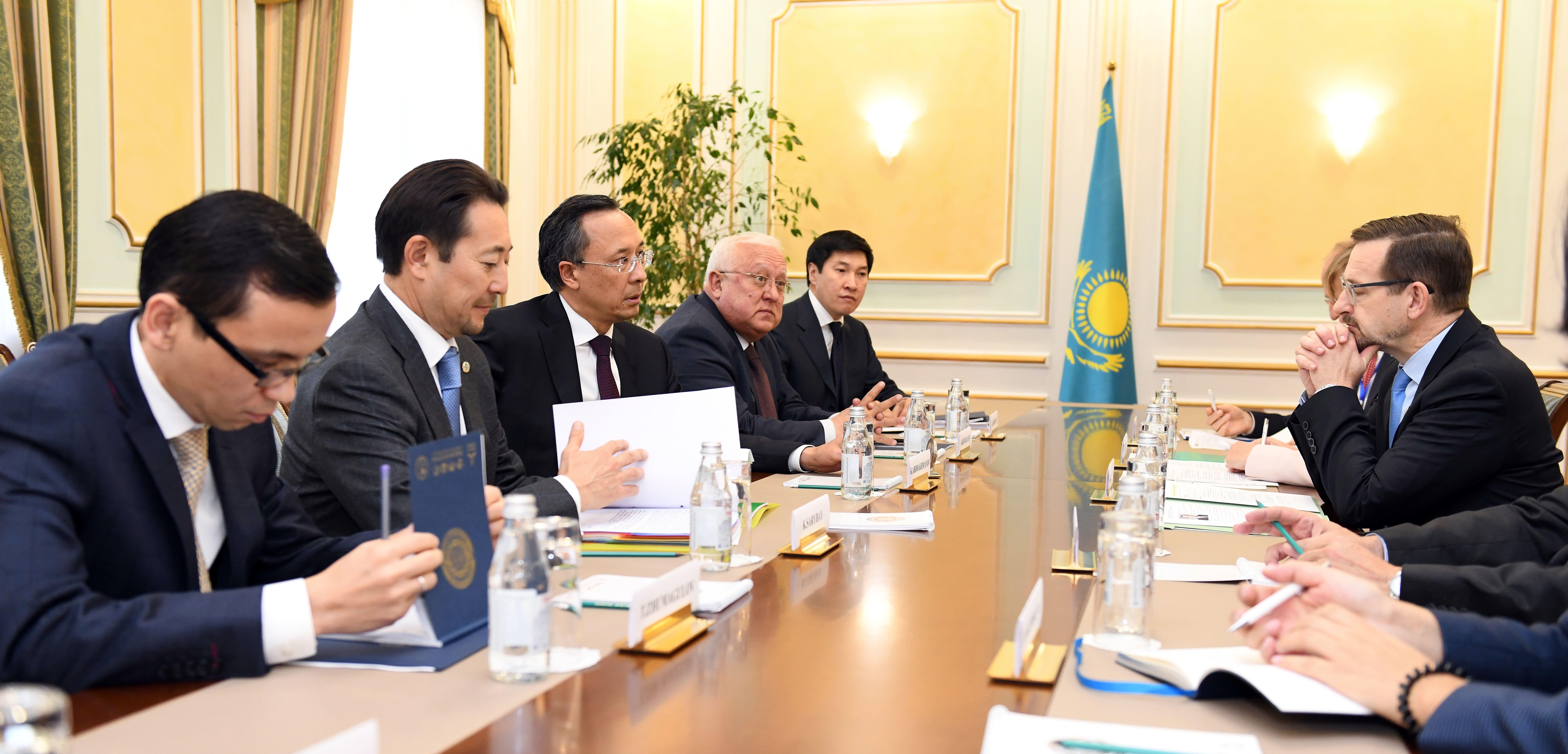Глава МИДа встретился с генеральным секретарём ОБСЕ