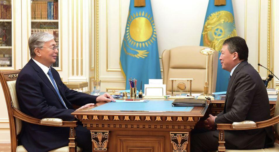 Касым-Жомарт Токаев провел встречу с руководителем НПП «Атамекен» Тимуром Кулибаевым