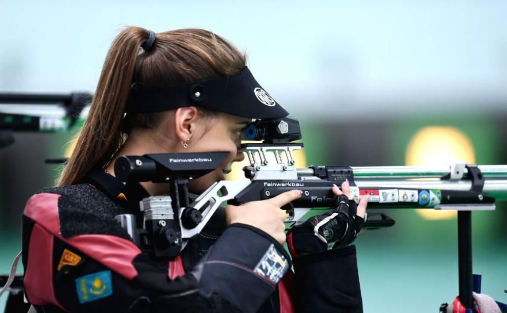 Виолетта Старостина – серебряный призер турнира по стрельбе в Кувейте
