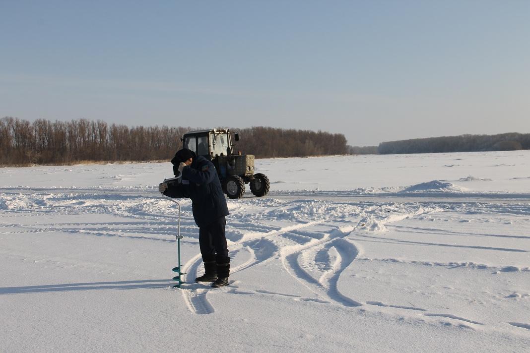 В Павлодарской области открылась ледовая переправа через Иртыш