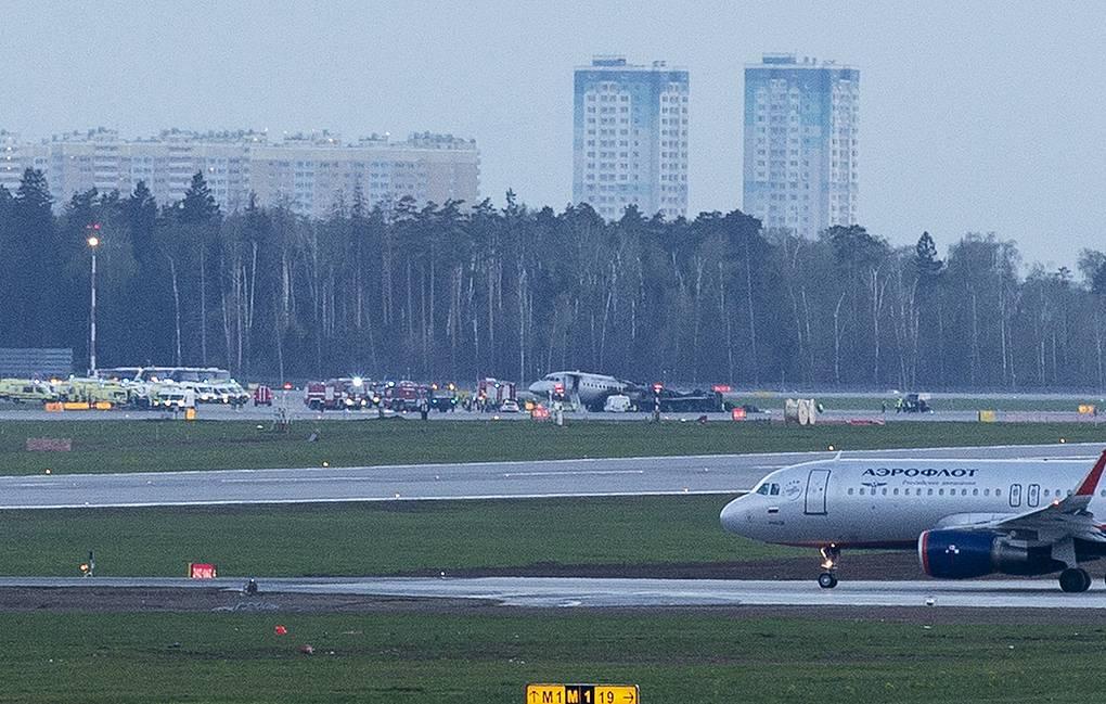 В ЧП при аварийной посадке самолета в аэропорту Шереметьево погиб 41 человек