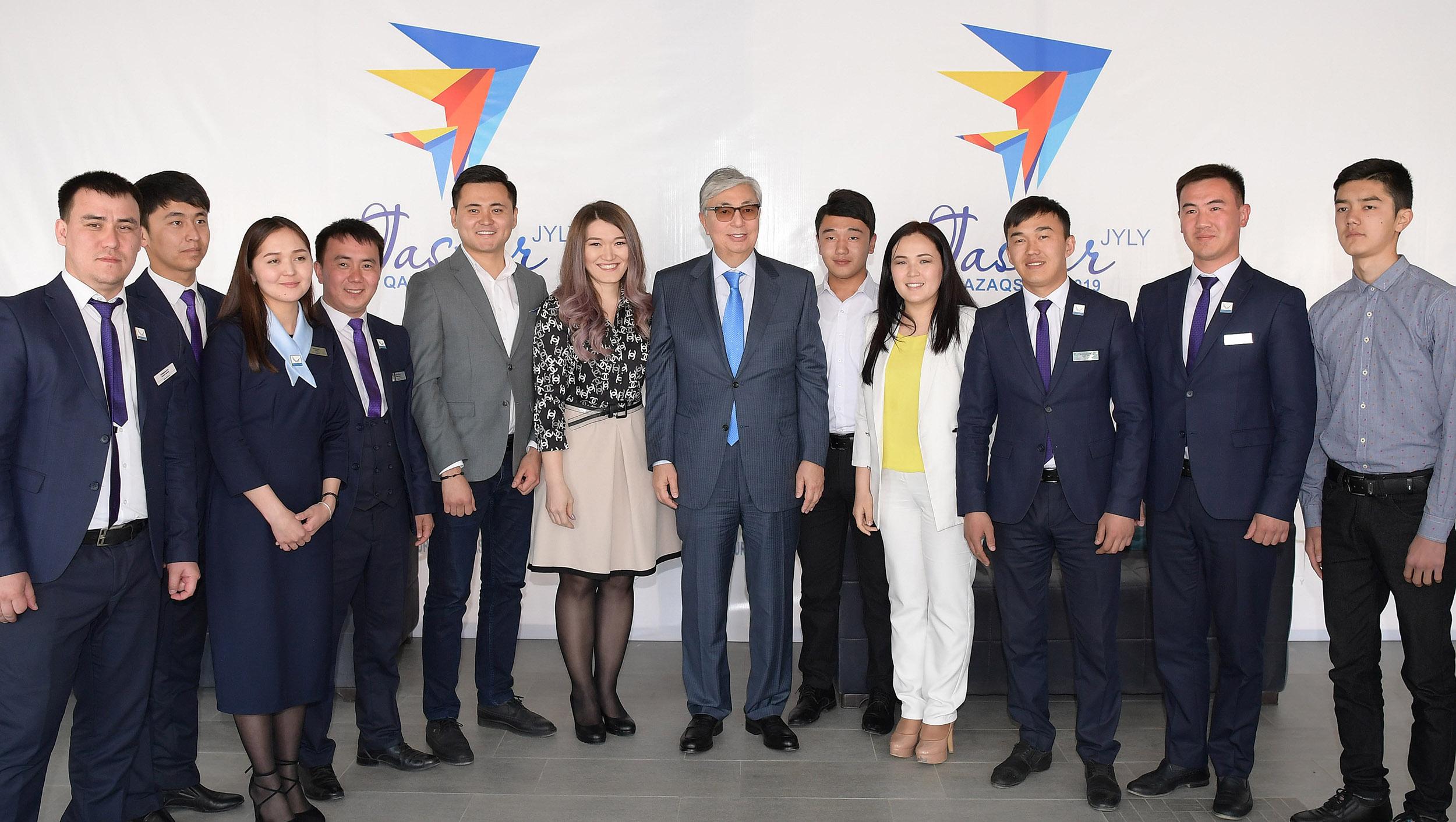 Президент посетил молодежный ресурсный центр