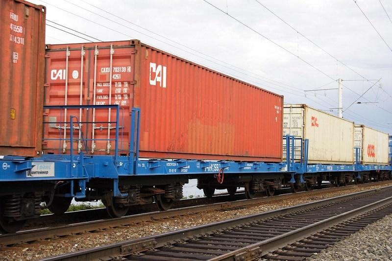 Первый контейнерный поезд отправился из Казахстана по Транскаспийскому транспортному маршруту