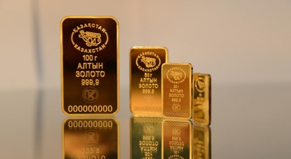 Нацбанк РК решил продавать часть золота из резервов