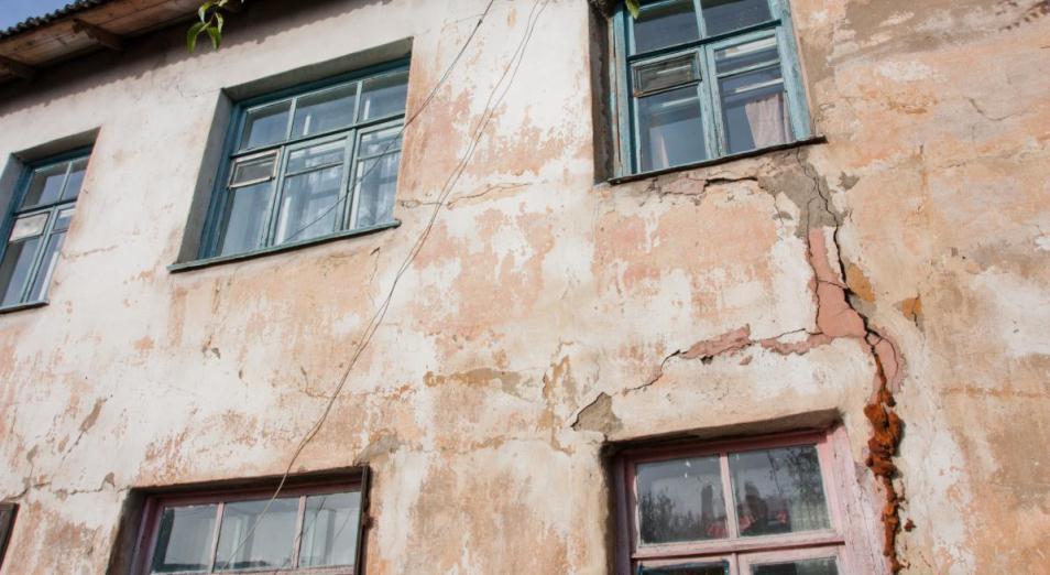 Каждый четвертый дом в Казахстане находится в неудовлетворительном состоянии