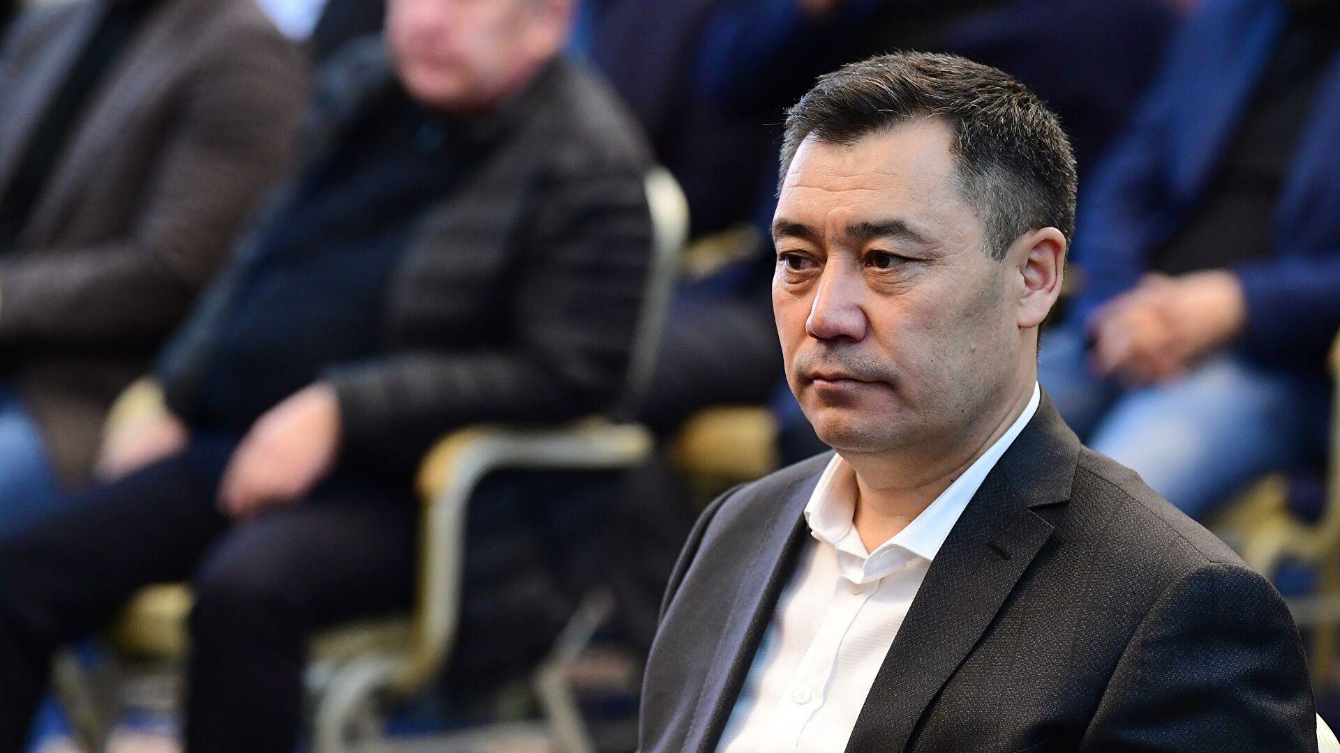 Новый премьер Кыргызстана Жапаров может стать и.о. президента в случае отставки Жээнбекова