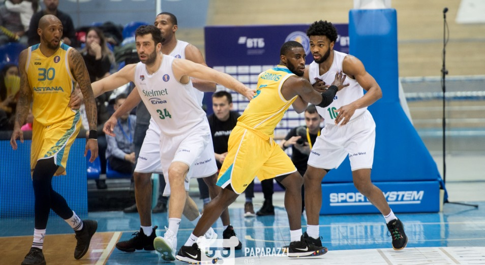 «Астана» запрыгнула на пятую строчку Единой лиги ВТБ
