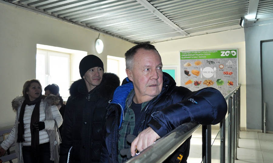 Матц Хоггрен посетил алматинский зоопарк