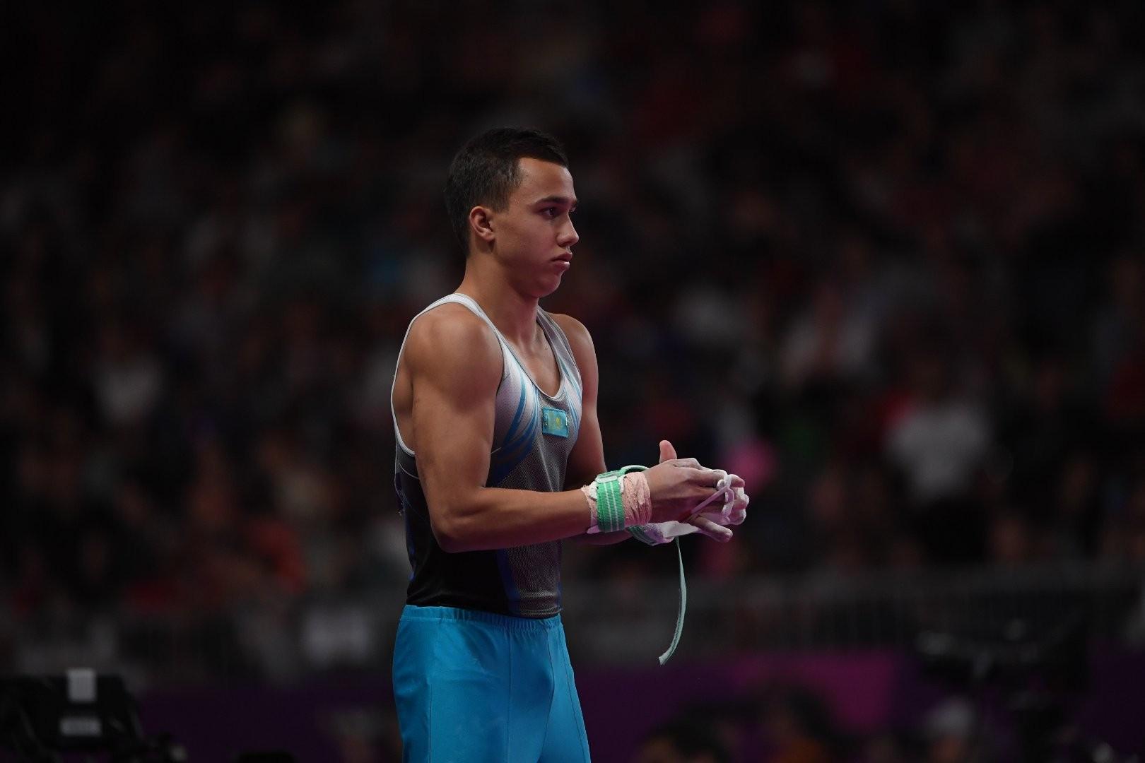 Милад Карими завоевал вторую медаль на этапе Кубка мира по спортивной гимнастике