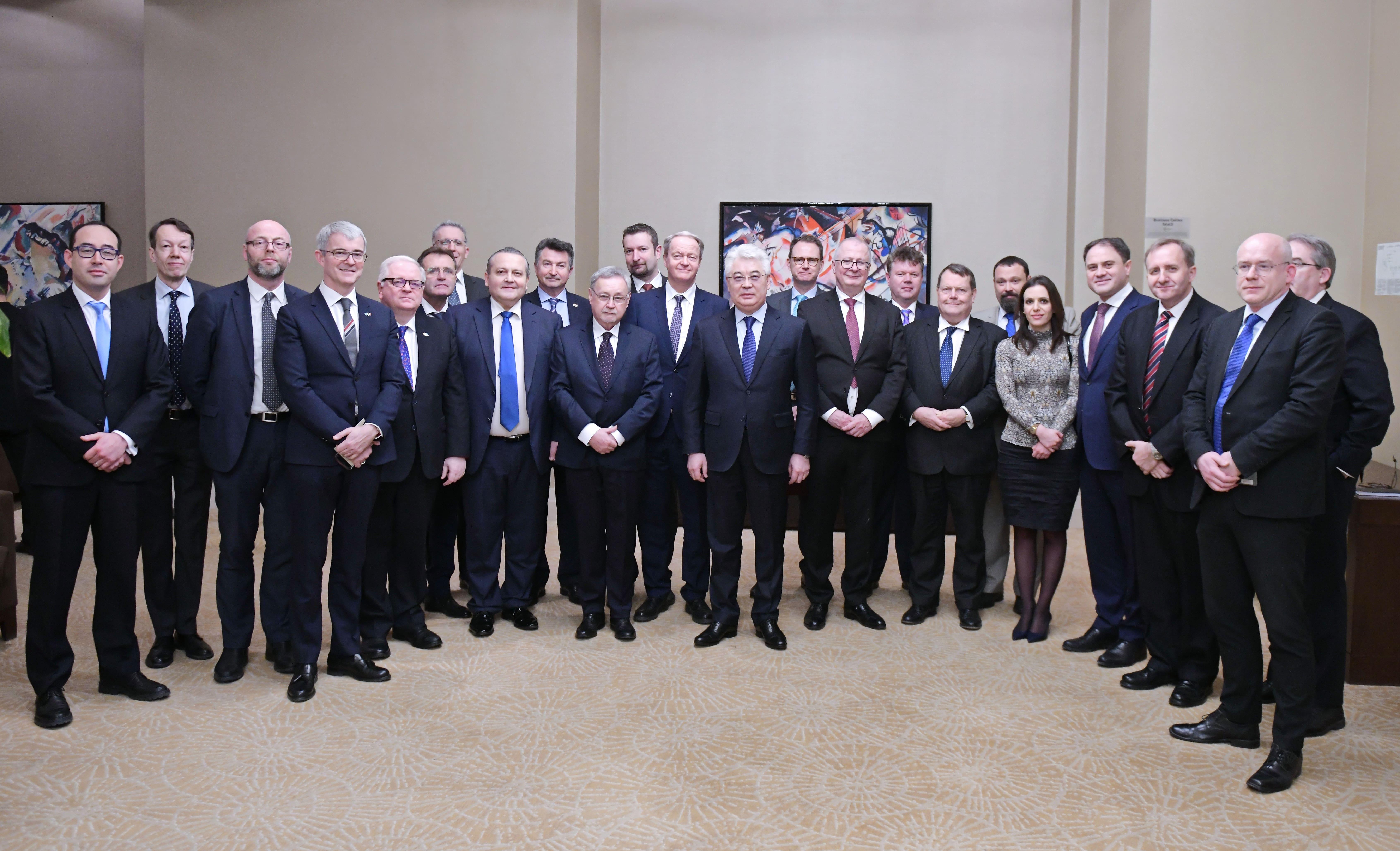 Казахстан и ЕС поддерживают и развивают торгово-экономическое сотрудничество