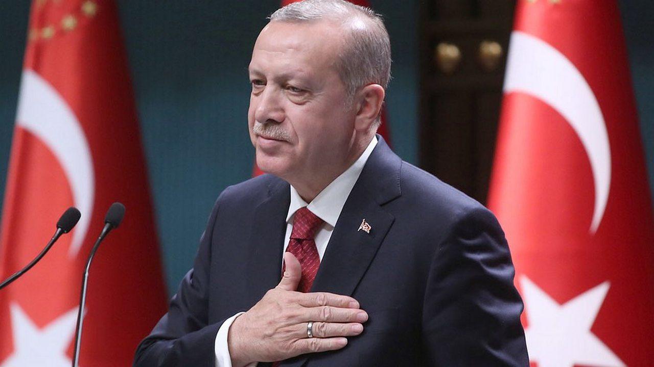 Эрдоган поздравил Назарбаева с наступающим Новым годом