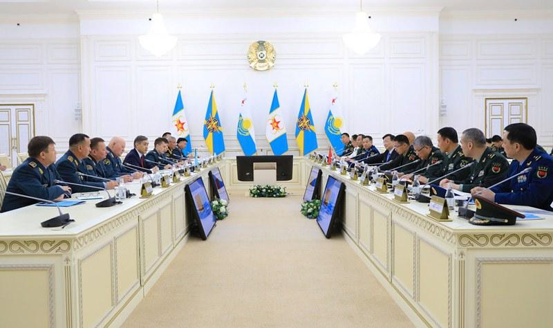 Оборонные ведомства Казахстана и Китая обсудили вопросы военно-технического сотрудничества