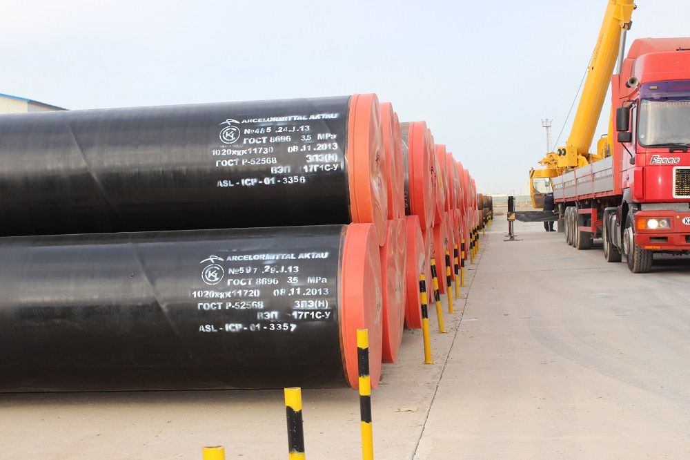 Актауский трубный завод намерен поставлять продукцию для строительства газопровода «Сарыарка»