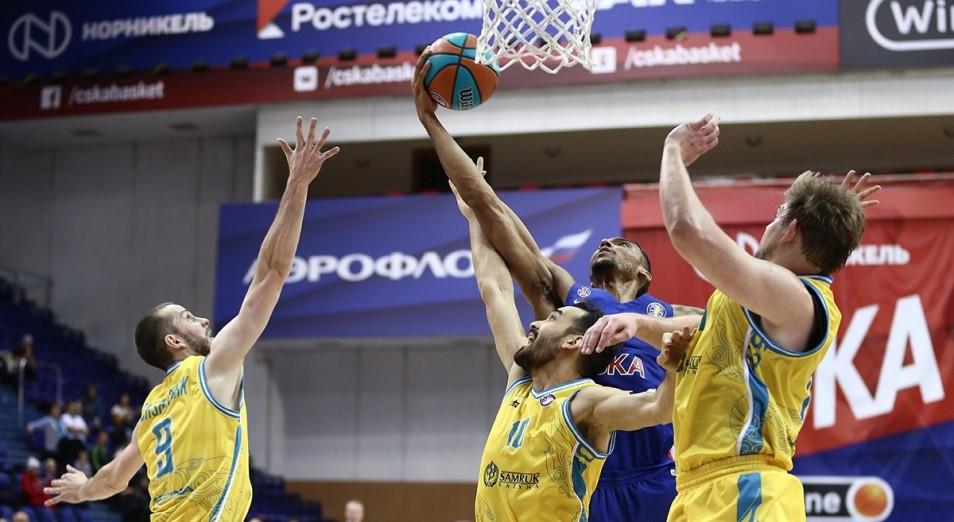 «Астана» вернулась в зону плей-офф Единой лиги ВТБ