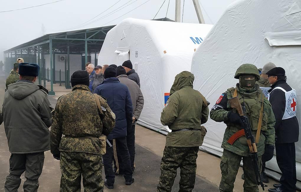 Республики Донбасса передали Украине первых 25 человек в рамках обмена