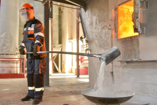 На Павлодарском алюминиевом заводе произведена 60-миллионная тонна глинозема