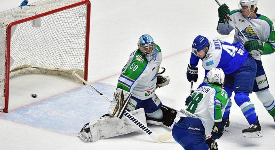 «Барыс» победил «Салават Юлаев», обеспечив себе выход в плей-офф КХЛ