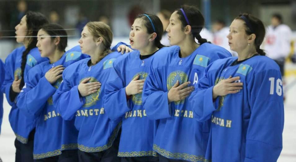 Казахстанская женская сборная по хоккею уступила сборной Кореи