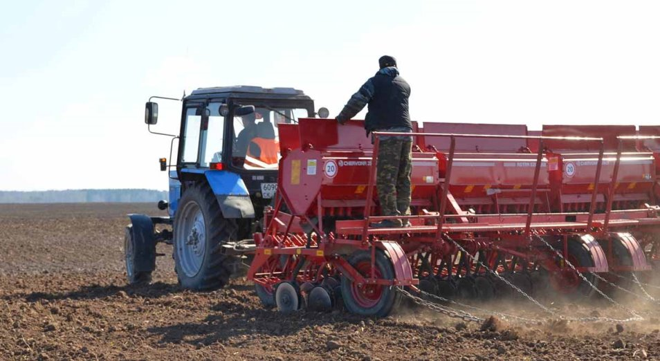 О весенних полевых работах в Казахстане