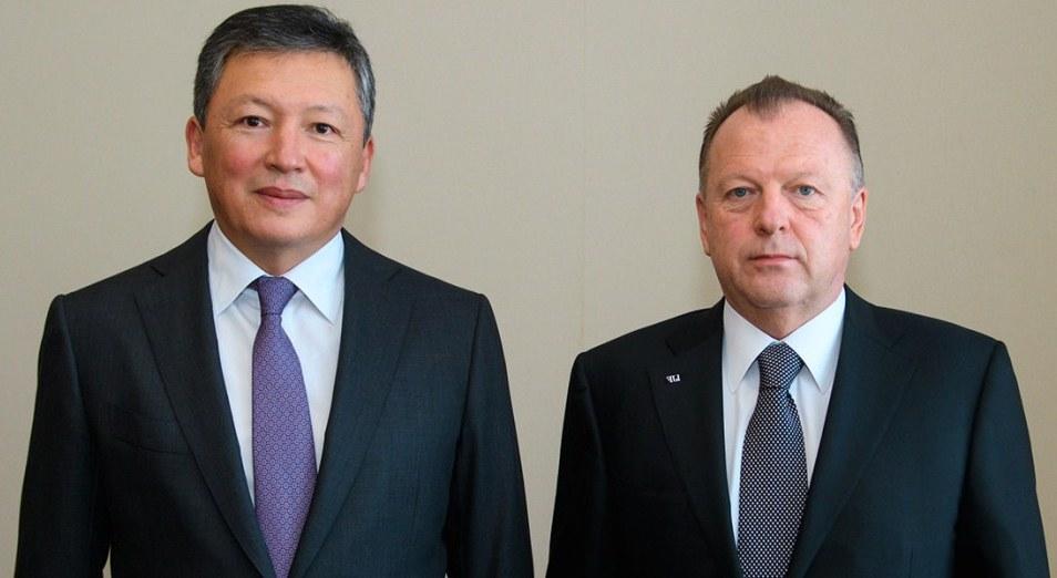 Президент НОК РК провел встречу с руководителем Международной федерации дзюдо