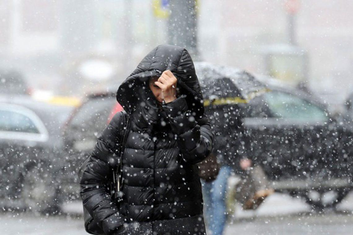 Дождь со снегом ожидается на большей половине Казахстана в предстоящие трое суток