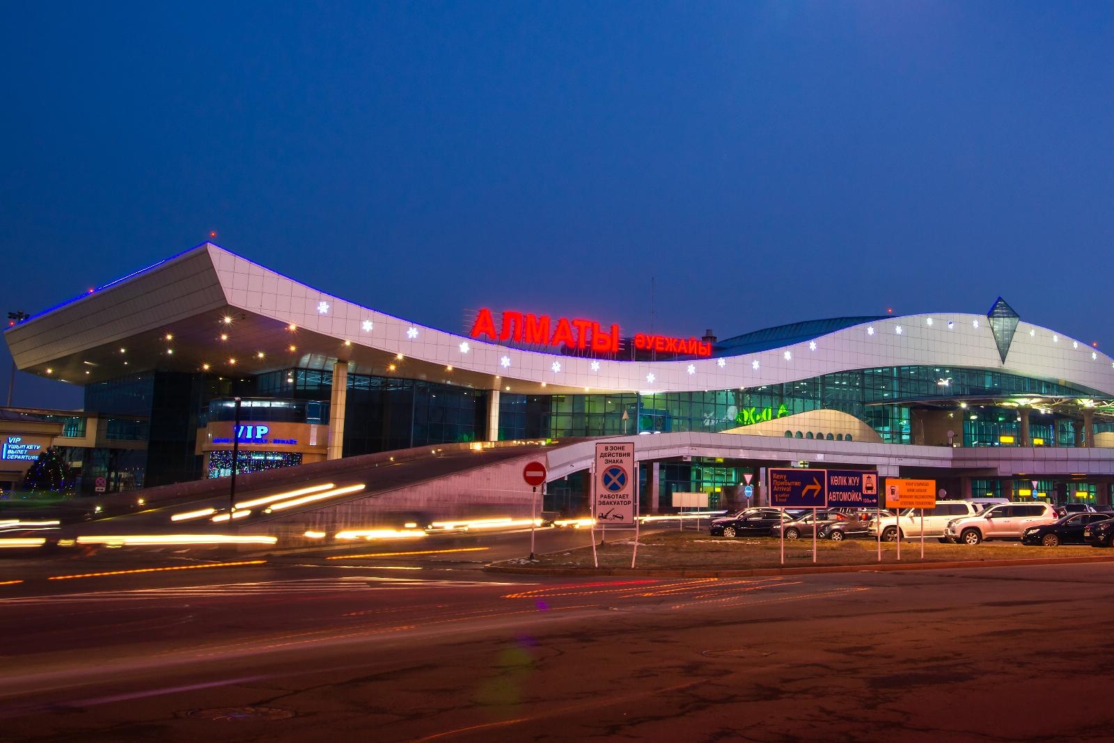В аэропорту Алматы у самолета Kata Air Sudan задымилось шасси