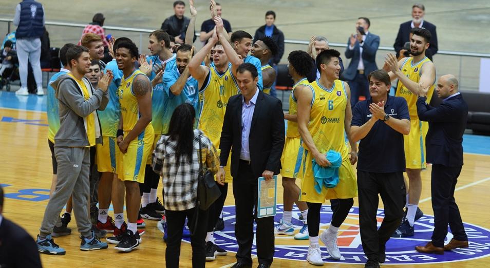 Единая лига ВТБ: «Астана» ворвалась в топ-4