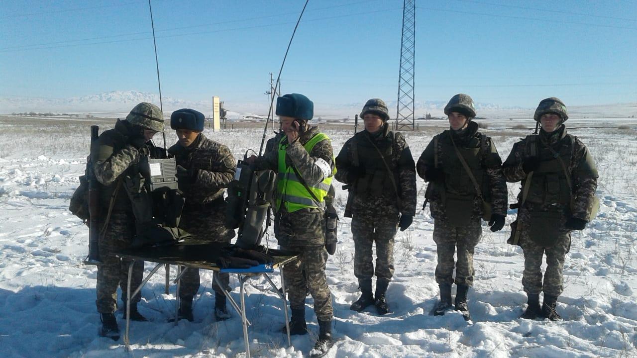 В Вооружённых силах РК завершены контрольные занятия по специальной подготовке