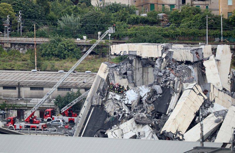 В Италии проходят государственные похороны жертв обрушения моста в Генуе
