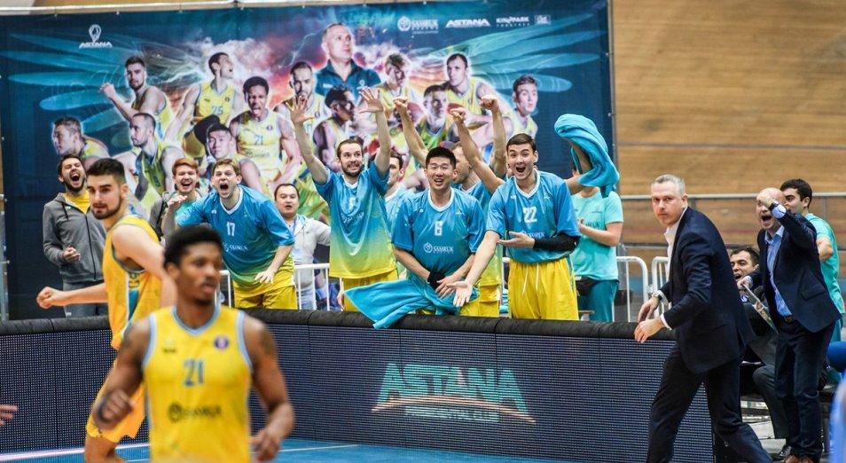 «Астана» стала двойным чемпионом Казахстана по баскетболу